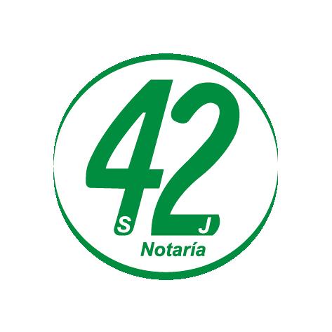 Notaría 42